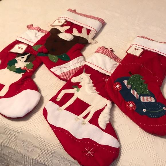 Christmas Stockings Pottery Barn.Nwt Christmas Stockings Pottery Barn Kids